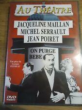 /NEUF DVD * ON PURGE BEBE GEORGES FEYDEAU JEAN POIRET MICHEL SERRAULT AU THEATRE