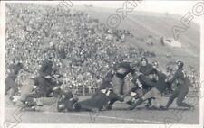1930 Princeton Tigers Quarterback James Runs Ball In Football Game Press Photo