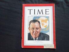 1946 NOVEMBER 25 TIME MAGAZINE - U.N.'S TRYGVE LIE - T 1048