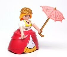 Playmobil Figure Castle Princess Victorian Lady w/ Hoop Skirt Parasol 4639