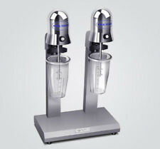 CE Stainless Steel Double Heads Milk Shake machine Milk Mixer Commercial 220V