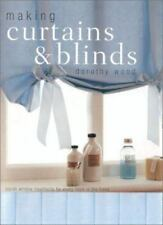 Making Curtains & Blinds by Dorothy Wood paperback book good condition ships fst