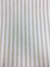 """Crowson, 100% Cotton, Kew Stripe, Curtain & Craft Fabric, 54"""", MADE IN ENGLAND"""