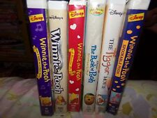 Lot of 6 Winnie The Pooh VHS Movie Tapes
