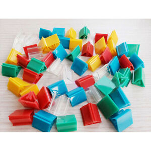 50PC Plastic Game Card Stands Paper Clip Board Game Card Support Fixed Props