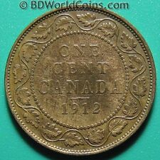 1912 CANADA ONE 1 LARGE CENT GEORGE V CANADIAN COLLECTABLE COIN BRONZE 25mm