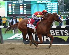 Justify wins Triple crown at 2018 Belmont stakes 8x10 glossy photo #3