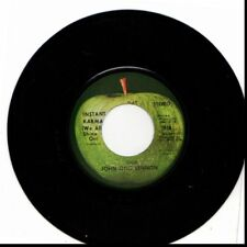 JOHN LENNON & YOKO ONO INSTANT KARMA (WE ALL SHINE ON)/WHO HAS USED 45RPM VINYL