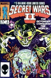 Secret Wars II #3 VG 1985 Stock Image Low Grade