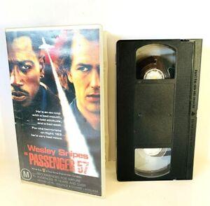 Vintage Passenger 57 Wesley Snipes VHS Video Rating M15+ 1995 FREE POSTAGE