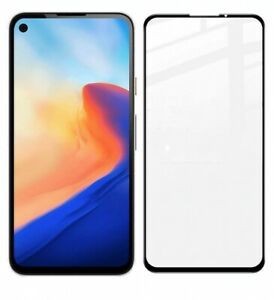 For Google Pixel 5 4a 5G Full Cover Black HD Tempered Glass Screen Protector 1/2