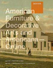 Skinner American Furnitrue Folk Art Americana Post Auction Catalog March 2014