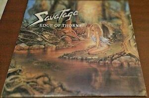 Savatage - Edge of  Thorns LP Album  1993 US Atlantic AMCY-545