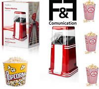 Macchina Per Pop Corn Elettrica ad Aria 1200W Cuoci Popcorn simile  Beper 90.590