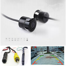 2in1 4pin Connector Car Rear Back View 170°  Backup Side Front Parking Camera