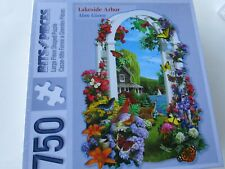 Bits & Pieces Shaped Jigsaw Puzzle 750 Pieces LAKESIDE ARBOR  New Sealed
