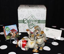 "Charming Tails Fitz & Floyd 84/112 ""Honey Bunnies"" Figurine w/ Original Box"