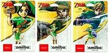Nintendo 3DS Amiibo Link Majora's Mask Skyward Sword Twilight Princess Set 3  JP