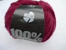 Cashmere fine 25g lana grossa 100% CASHMERE 22 = ROSSO VINACCIA