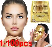 Anti-Aging Remove Wrinkle Care Gold Bio Collagen Facial Face Mask High Moisture