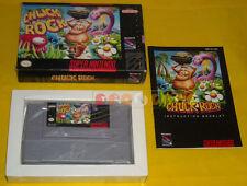 CHUCK ROCK Super Nintendo Snes Versione NTSC Americana ○○○○○ COMPLETO
