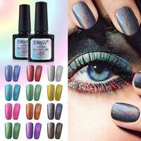 Elite99 Color Rainbow UV Gel Polish Soak Off Holographic Nail Art Top Base Coat