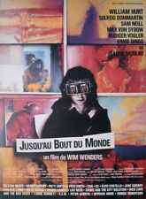 UNTIL THE END OF THE WORLD - WENDERS / HURT / AUSTRALIA - SMALL MOVIE POSTER