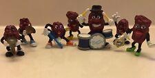 Vintage California Raisins Musical Band Figures