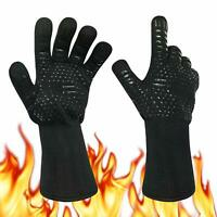 Gants de Barbecue Anti-Chaleur Jusqu'à 800°C,Certifié EN407, Universel Gants de
