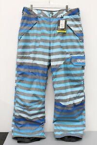 Burton NWT Men's MB Poacher PT Blue Cargo Ski Snow Pants Size XL MSRP $134