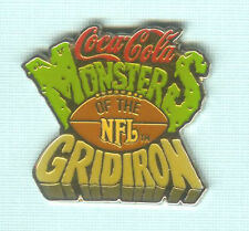 1993 NFL COCA COLA MONSTERS OF THE GRIDIRON COLLECTOR PIN