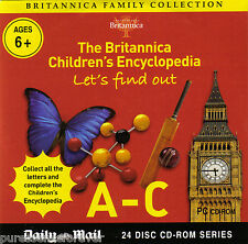 BRITANNICA FAMILY COLLECTION: LET'S FIND OUT A-C (Daily Mail PC CD-ROM)