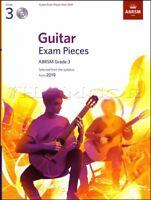 Guitar Exam Pieces ABRSM Grade 3 from 2019 Sheet Music Book/CD Classical Mozart