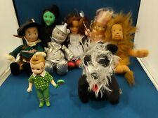 Wizard of Oz BEANIE BABY DOLLS Warner Bros Turner 1998 Land of Oz  RARE SET
