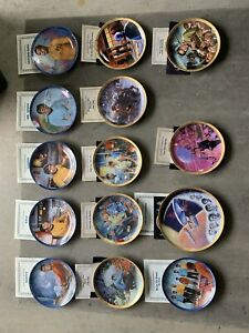 star trek collector plates