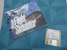 FLIGHT SIMULATOR  MICROSOFT PILOT HANDBOOK VERSION 5.0 DISQUETTE N°1
