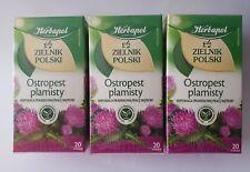 Herbapol - Milk Thistle 60 tea bags  - Ostropest Plamisty  - Silybum marianum