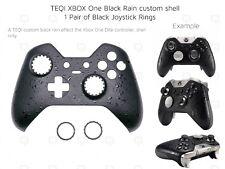 NUOVA Xbox One Elite Nero Chrome Anelli Pioggia Controller Soft Shell ANTERIORE unico