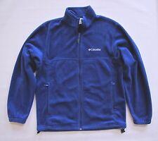 Columbia Men's Steens Mountain Fleece Zip front Jacket Medium Cobalt Blue WM6113