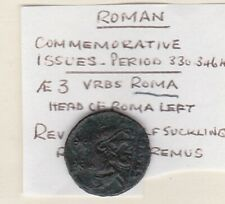More details for roman she wolf romulus & remus 330 to 346 ad in good very fine condition