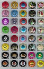 Lot de 7 séries Générique  dont  2  séries relief      40 capsules