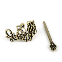 Viking Celtic Knot Hair Pin Antique Hair Stick Irish Hair Accessories Bronze