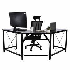 L-Form Computertisch Eckschreibtisch Schreibtisch Bürotisch Arbeitstisch PCTisch