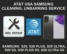 AT&T USA Cleaning, Unbarring Service for Samsung S20, S20 Plus, S20 Ultra, 5G