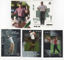 02 + 03 SP Authentic Golf Complete Card Sets + 3 Subsets - Tiger Woods L@@k!!