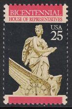 Scott 2412- House of Representatives, Bicentennial- MNH 25c 1989- unused mint