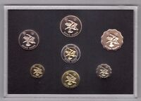 HONG KONG - PROOF 7 DIF COINS SET: 0.10 - 10$ 1997 YEAR RETURN TO CHINA+ BOX+COA