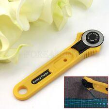 Roll cutter 28MM round Wheel Circular saw Craft Blade Knife Cut  Cloth Leather