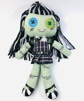 MONSTER HIGH FRANKIE STEIN Cloth Rag Plush Stuffed Doll 18""