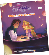 "LIBRO DISNEY PRINCESAS ""ENREDADOS; DESLUMBRANTES MOMENTOS"", EN ESPAÑOL"